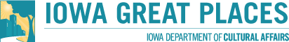 Iowa Great Places - Iowa Department of Cultural Affairs - logo - BFAC main donor