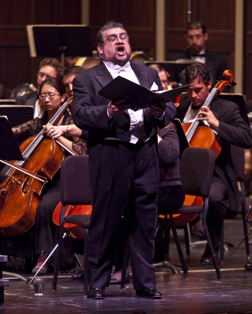 Eduardo Villa at the Santa Barbara Choral Society