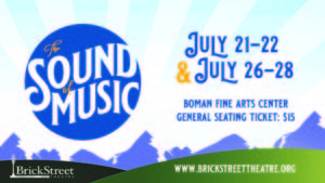 The Sound of Music @ Boman Fine Arts Center